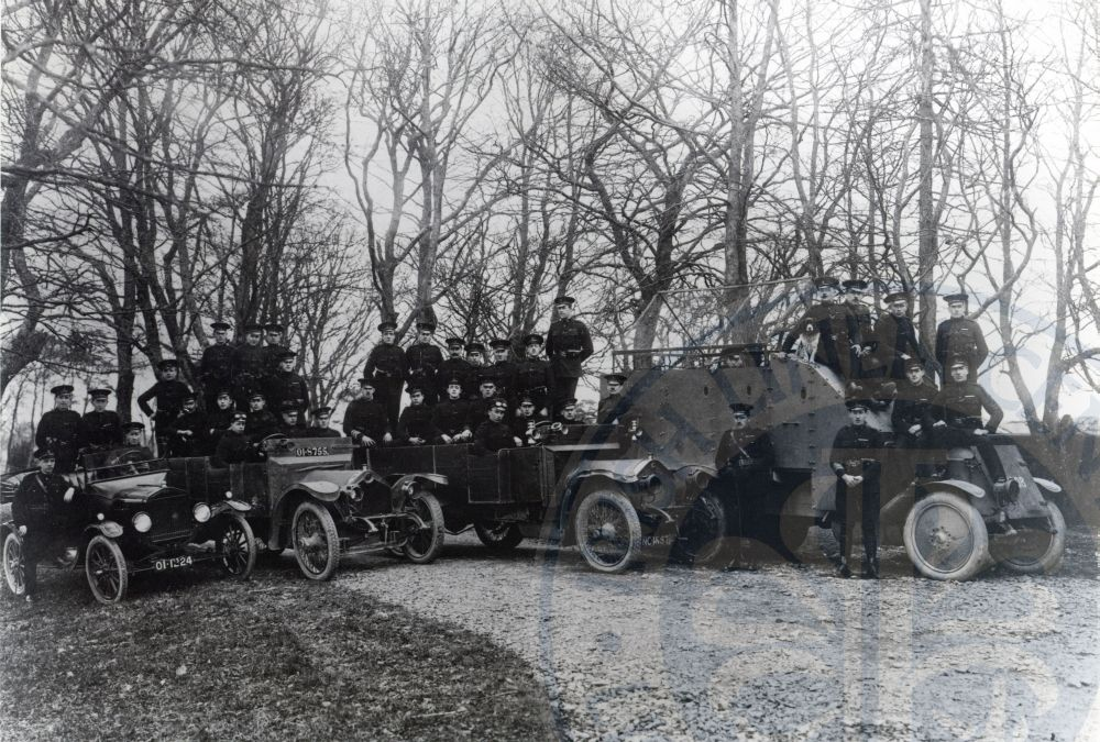 Special Constabulary Castle Gardens - Lisburn Museum Collection