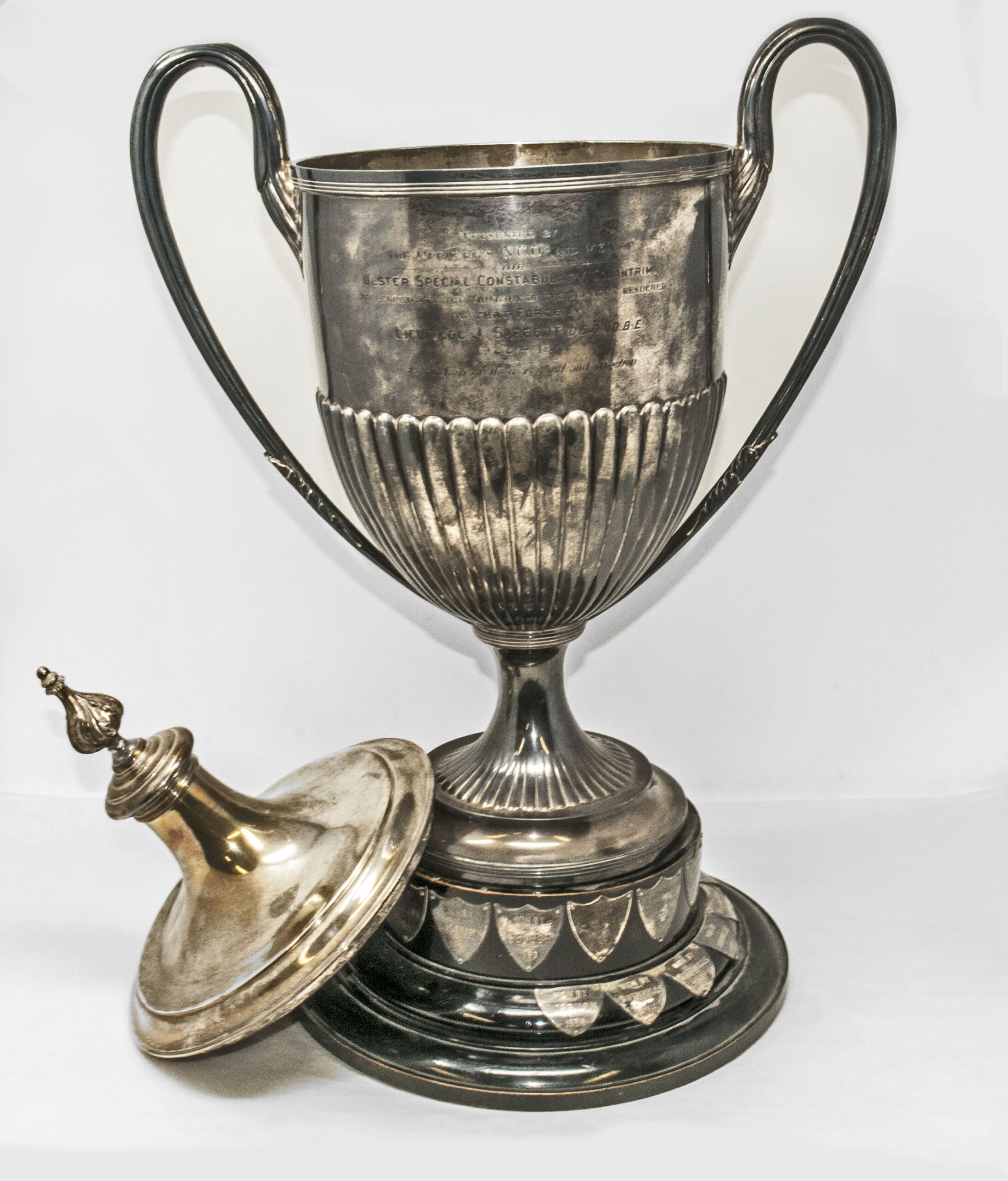 Silver cup, Ulster Special Constabulary, County Antrim