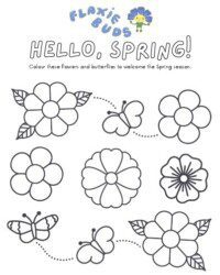 spring activity sheet