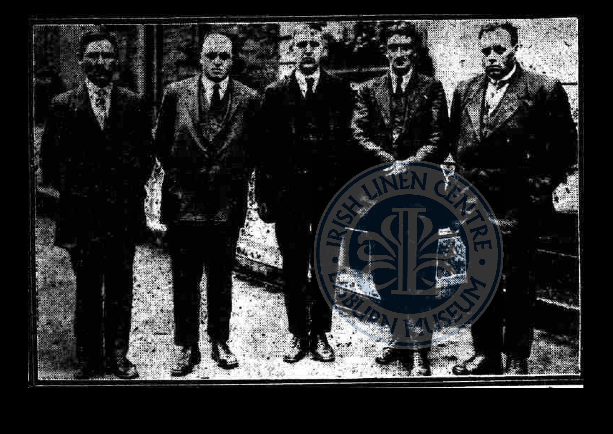 Antrim Deputation to Dail ILC&LM Collection