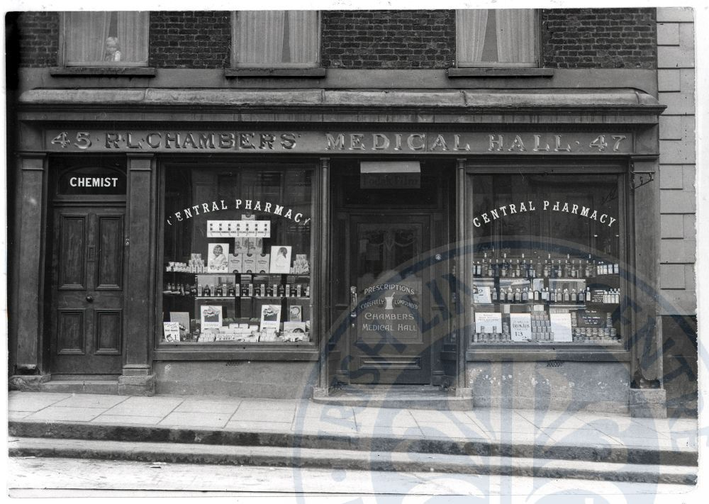 Chambers Medical Hall, Market Square - ILC&LM Collection