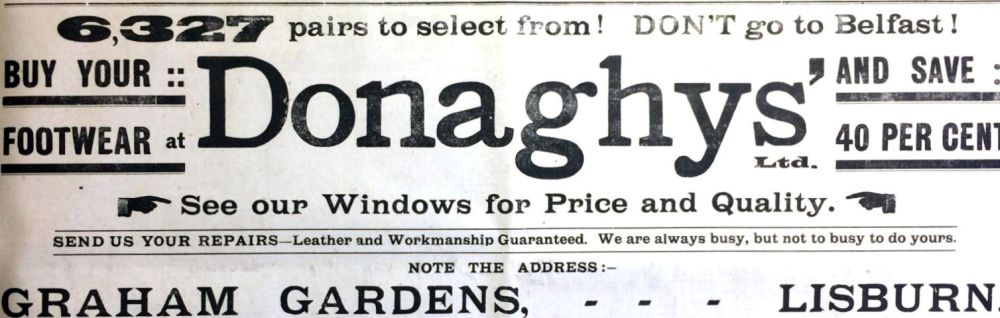 Donaghy's, Market Square, Lisburn - ILC&LM Collection