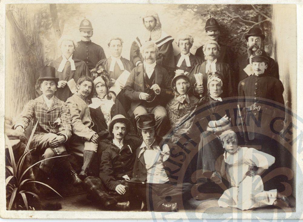 Drama Group Lisburn, c.1920 - ILC&LM Collection