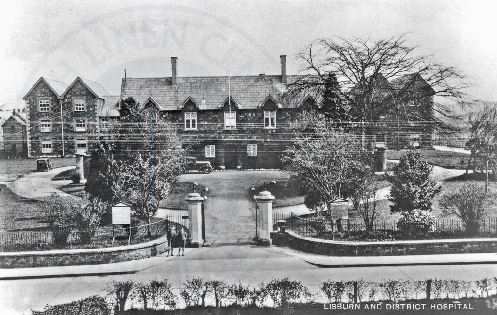 Lisburn and Hillsborough District Hospital, ILC&LM Collection