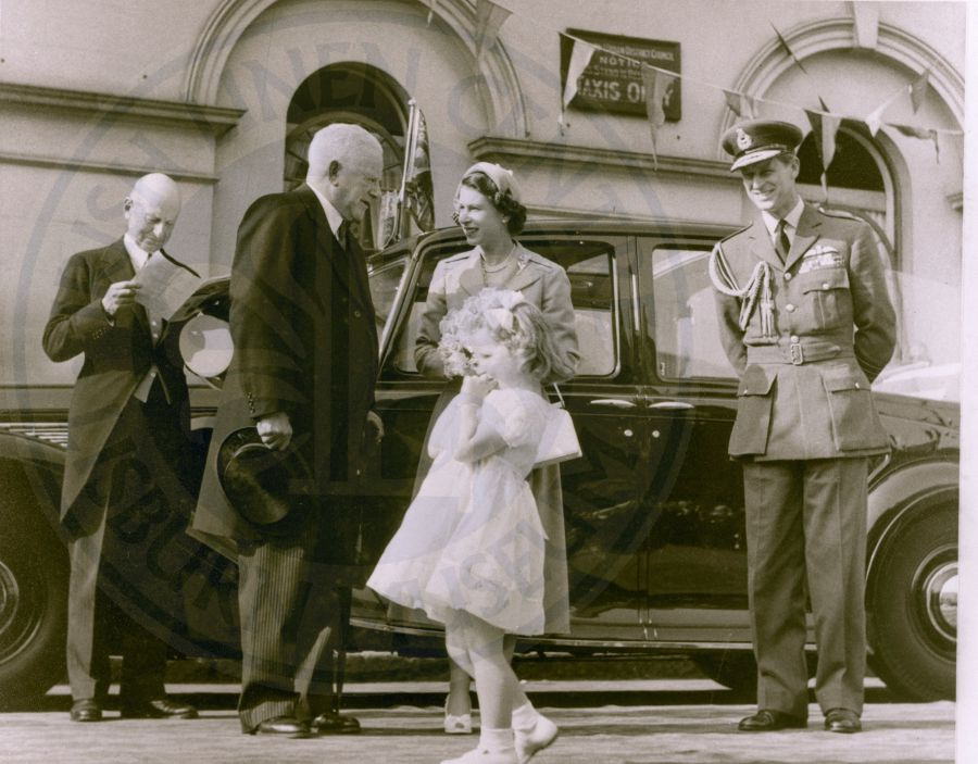 Prince Phillip in Lisburn 1953 - ILC&LM Collection