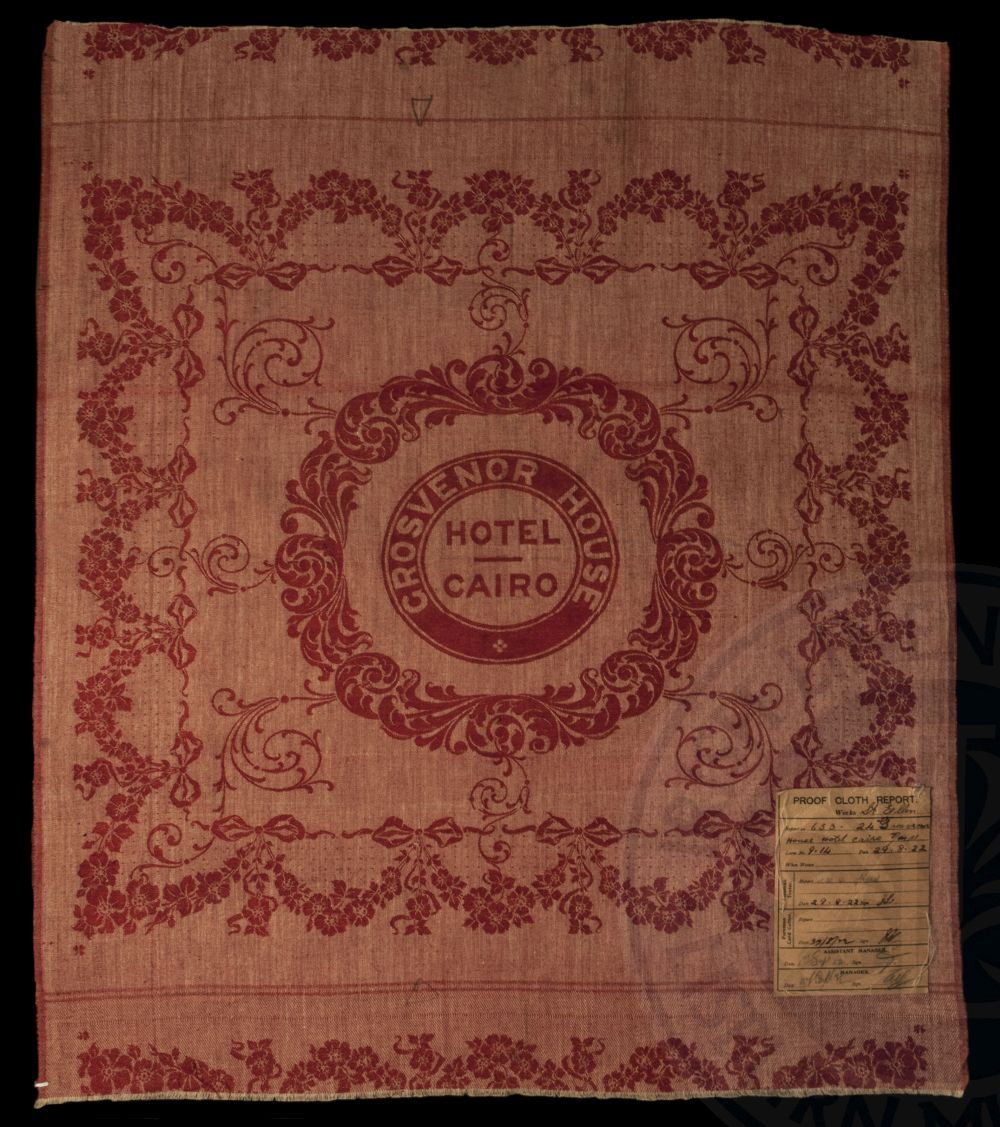 Proof cloth, John Shaw Brown's, Edenderry, 1922 - ILC&LM Collection