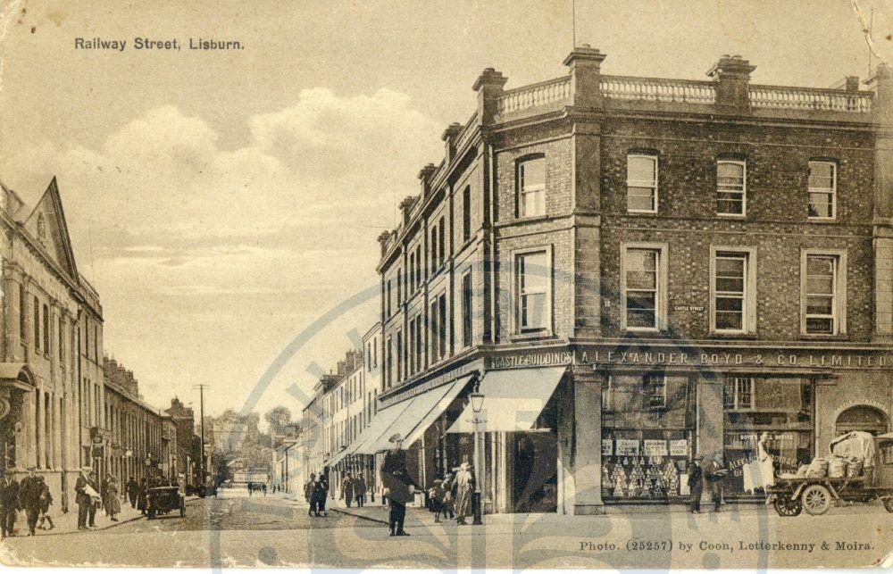 Railway Street, 1924 - ILC&LM Collection