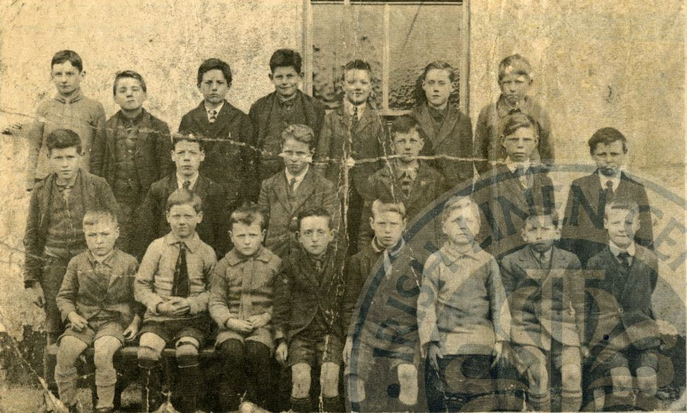 School in Lisburn, c.1920 - ILC&LM Collection