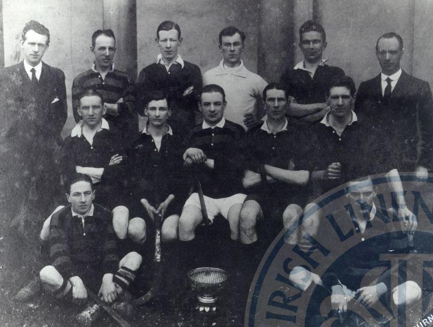 Antrim Hockey Club 1st 1920-21 - ILC&LM Collection