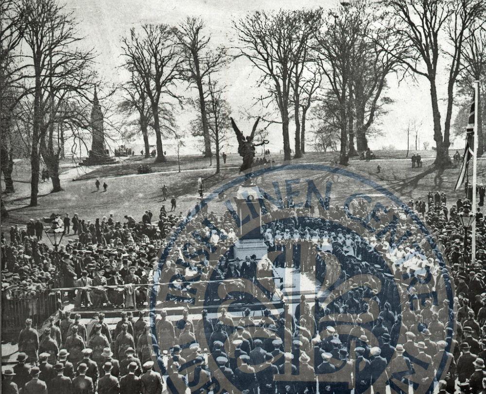 Unveiling Lisburn War Memorial, 1923 - ILC&LM Collection