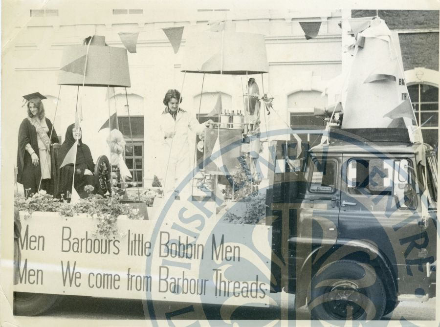 Barbour Float Lisburn Rally for Peace ILC&LM Collection