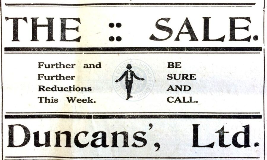 Duncan's, 1922 - ILC&LM Collection - Virtual Museum