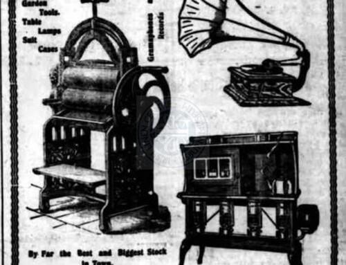 Ad: Kirkwoods, 1921