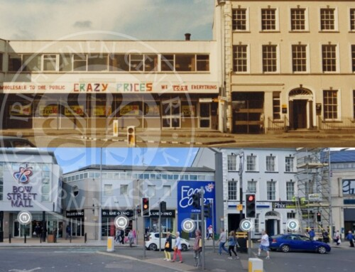 Photo: Market Place, Lisburn – before and after!