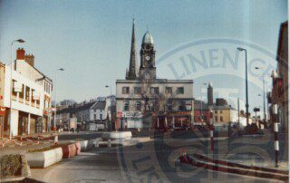View of Corner Cafe Market and Nicholson 1980s - ILC&LM Collection