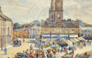 Gould, Market Square, 1919
