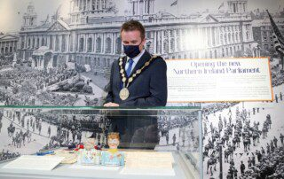 Launch of the New Ni centenary Exhibition at Lisburn Museum June 22 2021