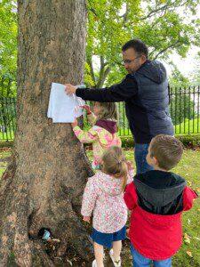 summer workshop 2020 tree trail