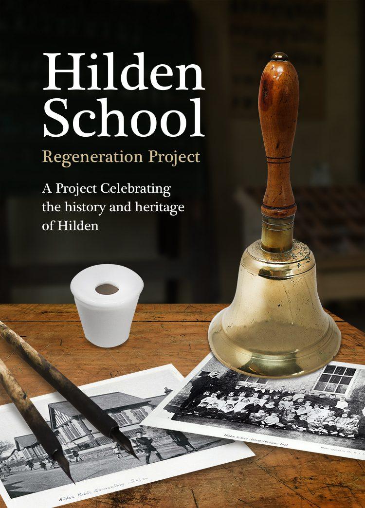 Hilden School Regeneration Project Poster