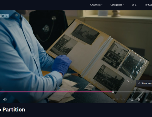 Video: BBC's 'Road to Partition' feat. the Museum's Collections
