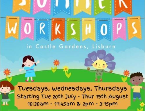 Summer workshops in Castle Gardens 2021