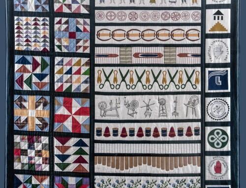 Northern Ireland 100 Years: Lisburn Museum's NI Centenary Quilt Programme