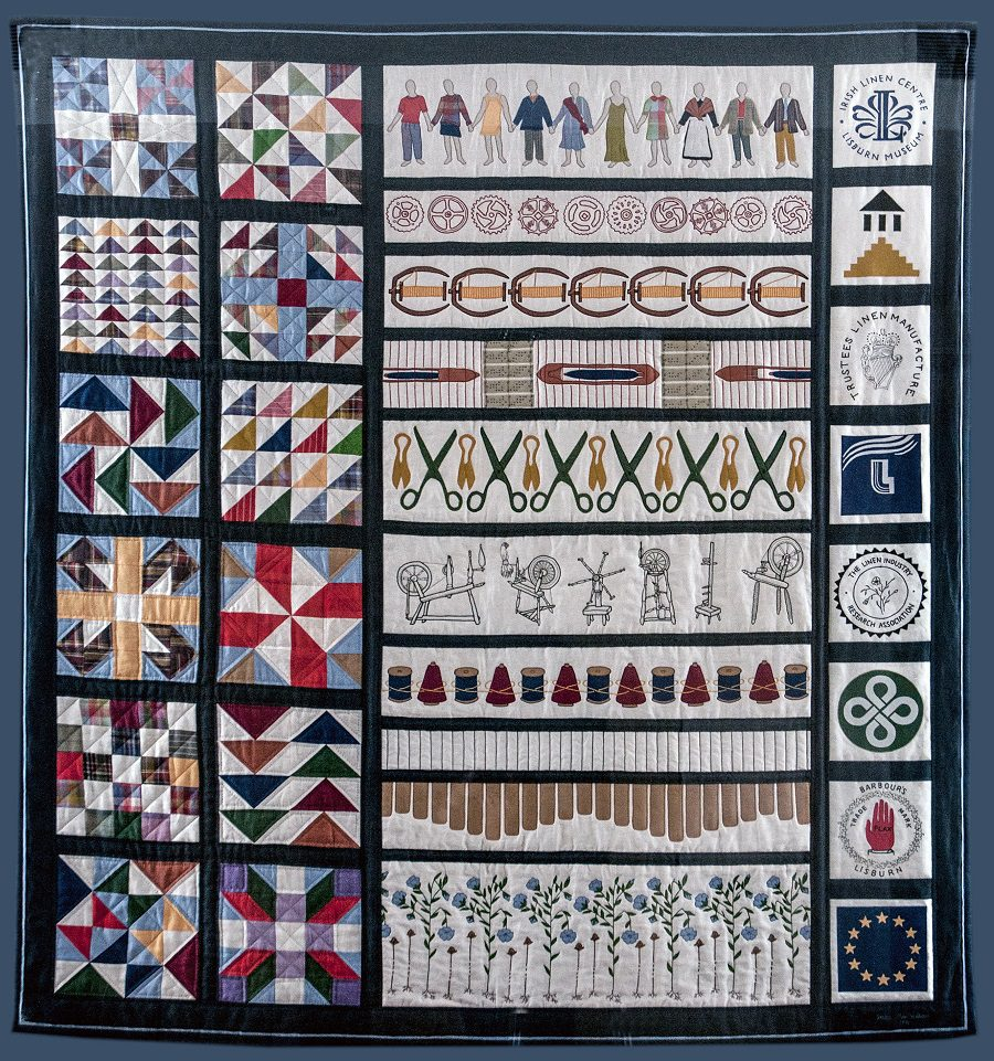 Quilt from Lisburn Museum's collection